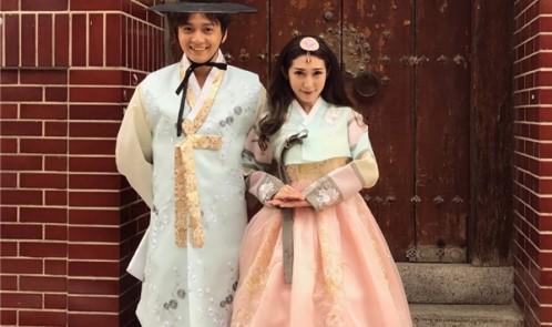 Tìm nơi mua Hanbok ở TPHCM để đáng yêu như Ngô Kiến Huy-Khổng Tú Quỳnh